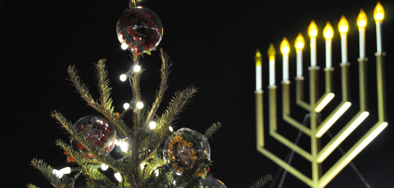 Christmas, Chanukah, and New Year's Eve: All in Sync