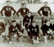 The 1936 version of Fordham's Seven Blocks of Granite, including Vince Lombardi (front row, third from left).