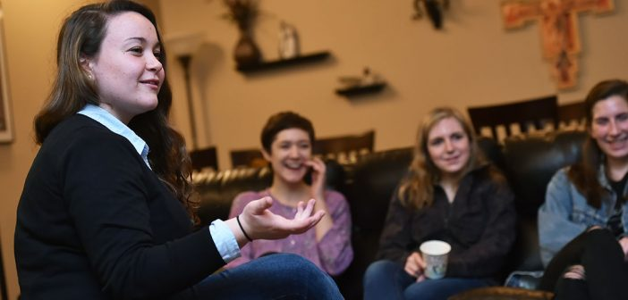 Students Find a Spiritual Home in Christian Life Communities