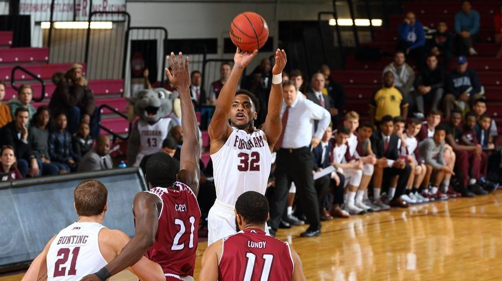 Men's Basketball Knocks Off Rhode Island