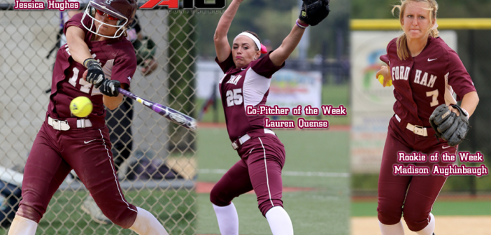 Softball Sweeps Weekly Atlantic 10 Awards