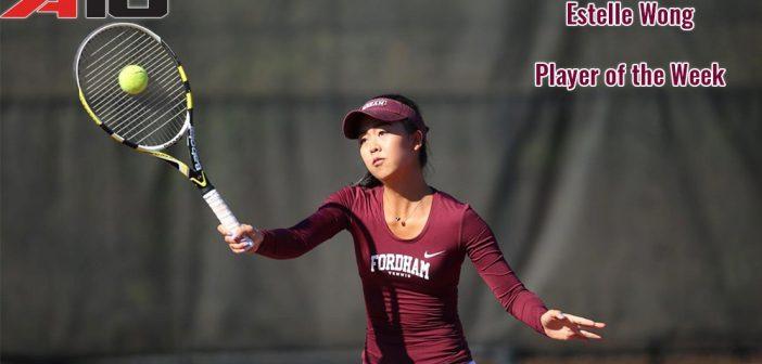 Fordham Tennis Estelle Wong