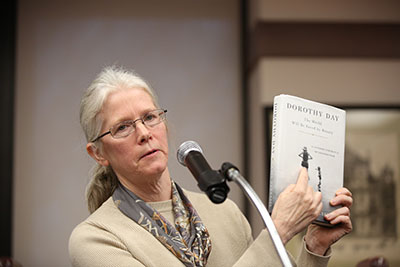 Author Kate Hennessy discusses her new book about her grandmother, Dorothy Day
