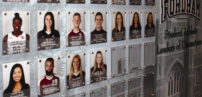Fordham Athletics Leadership Academy Honors Leaders of Distinction