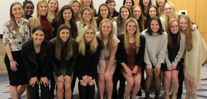 Women's Soccer annual awards banquet