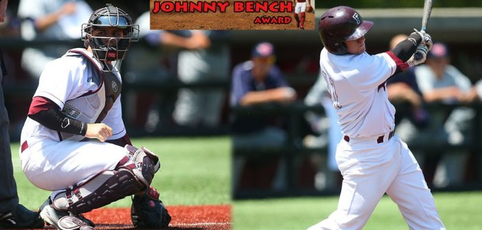 Baseball's Justin Bardwell Named to Johnny Bench Award Watch List