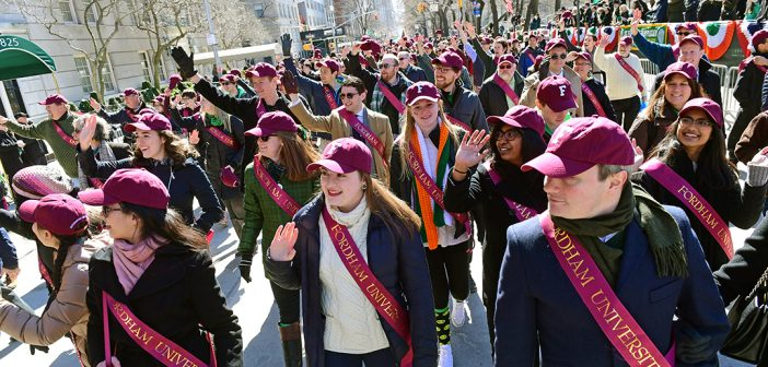 Fordham on Fifth for St. Pats