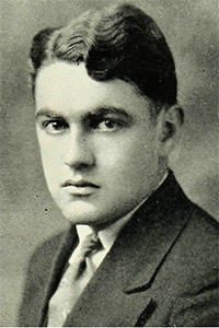 "Joseph Stephen Murphy, Fordham College Class of 1929. ""His is the rare gift of supplying laughter for all, pain for none,"" the 1929 Maroon yearbook editors wrote."