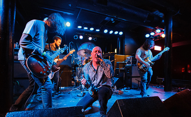 Kings Destroy performs live in Pawtucket, Rhode Island, in 2014. Photo courtesy of JJ Koczan