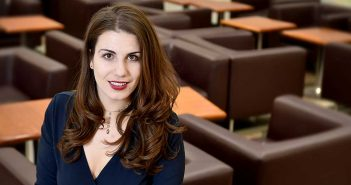Lauren Duca, FCRH '13, of Teen Vogue