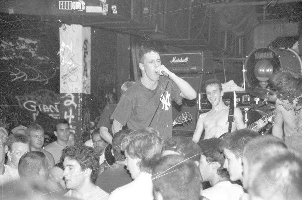 Uppercut performing at CBGB, circa 1989