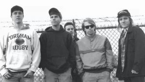 Uppercut band photo, circa 1989