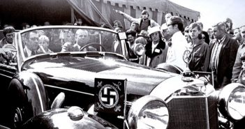 One of the limousines used by the Third Reich leadership, brought to America after World War II