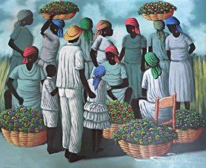 Painting courtesy Vassar Haiti Project