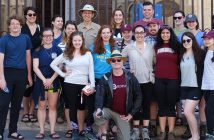 Richard Gyug and his Camino class