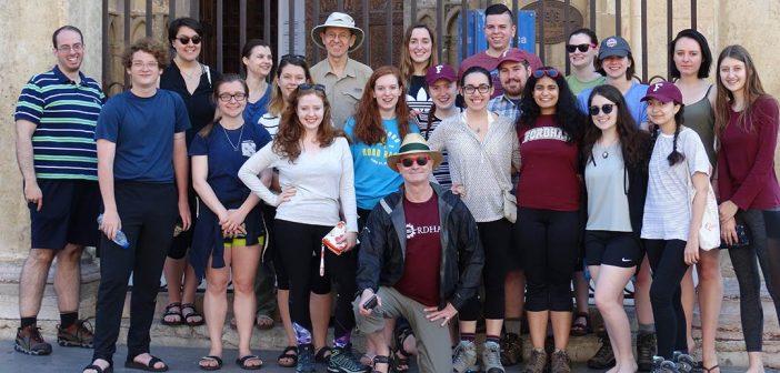 Richard Gyug and his Camino class