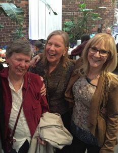 (L-R) Kathleen Schiaffino, Ann Higgins-D'Alessandro, and Celia Fisher. Photo courtesy of Monica Rivera Mindt.
