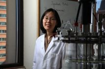 Jin Kim Montclare, Ph.D., graduated from Fordham with a B.S. in Chemistry in 1997.