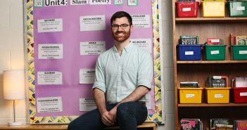 Alex Corbitt, GSE alumnus, teacher at MS 331 in the Bronx