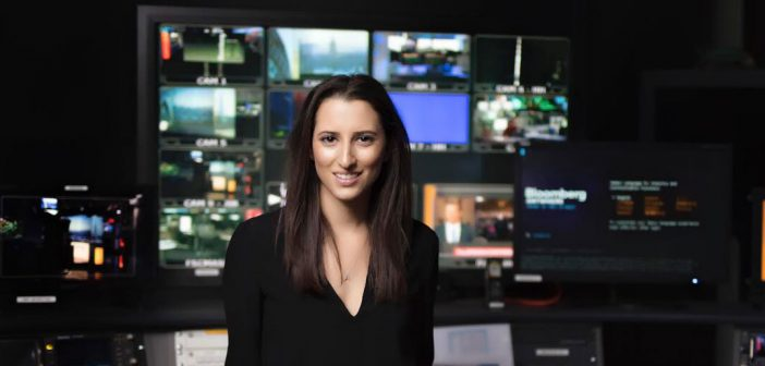 Annmarie Hordern, FCRH alum, is a Bloomberg TV executive producer