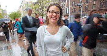 Brittney Cavaliere in New York City