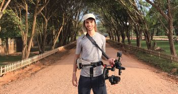 Documentary filmmaker David Quateman in Lima, Peru