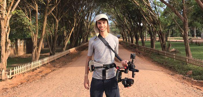 Documentary filmmaker David Quateman in Lima, Peru