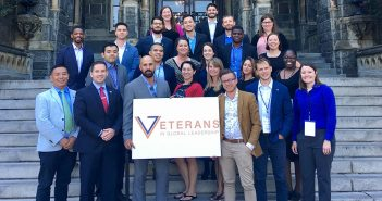 Three Student Veterans Recognized as Future Global Leaders