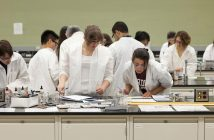 Fordham Students in Laboratory