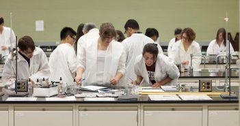 Fordham Students in Laboratory