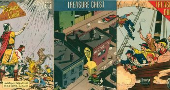 Covers of Comic books