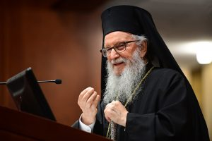 his Eminence Archbishop Demetrios, Geron of America and Primate of the Greek Orthodox Church in America
