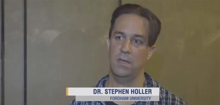 Physics professor Stephen Holler