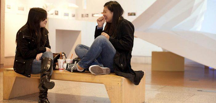 Students at Ildeko Butler Gallery