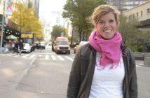 Annika Hinze on Columbus Avenue
