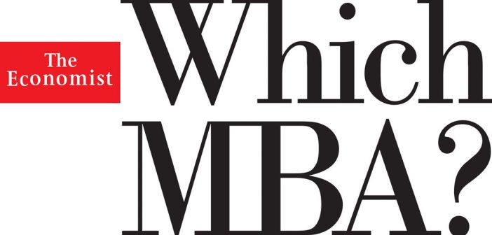 Logo of the Economist Which MBA? (PRNewsFoto/The Economist)