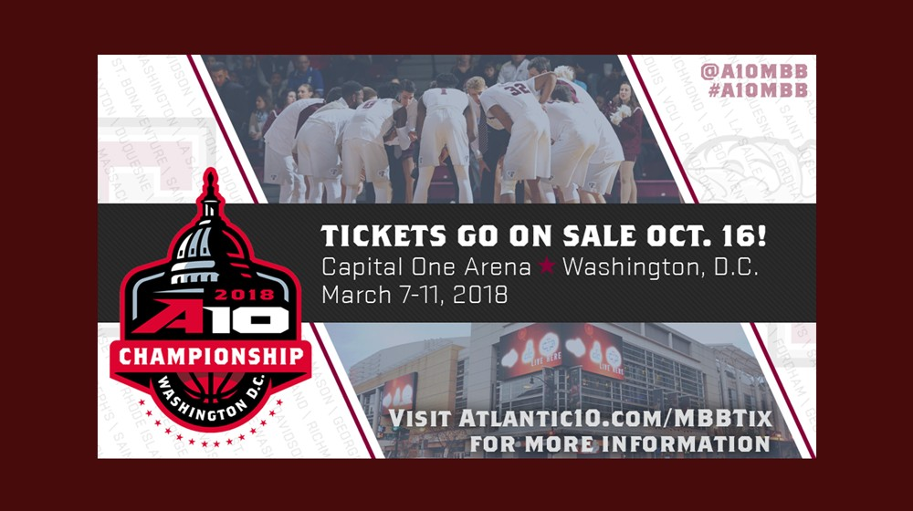 Tickets on Sale Monday for 2018 A-10 Men's Basketball ...