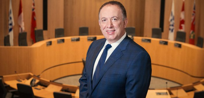 Maurizio Bevilacqua, mayor of the City of Vaughan. Photo credit: Corbin Smith