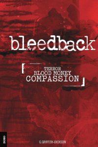 """""""Bleedback"""" bookcover"""
