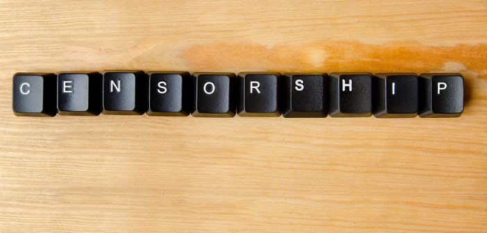censorship spelled out in keyboard pieces