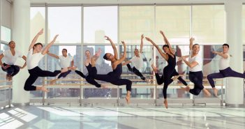 Ailey student dancers