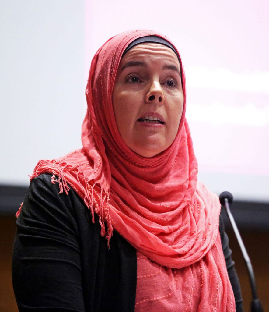 Jerusha Tanner Lamptey, Ph.D., an assistant professor of Islam and interreligious engagement at the Union Theological Seminary, highlighted Islamic feminist interpretations of Islam.