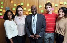 (L-R) Chantal Small, Margjele Shala, Sheron Cyrus, Teddy Berg, and Sally Brander.
