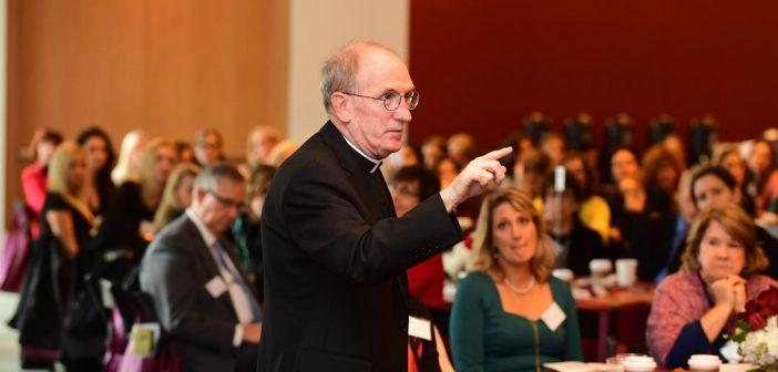 Joseph M. McShane, S.J., president of Fordham University.