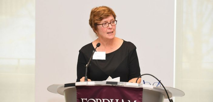 Martha Hirst, CFO of Fordham University.