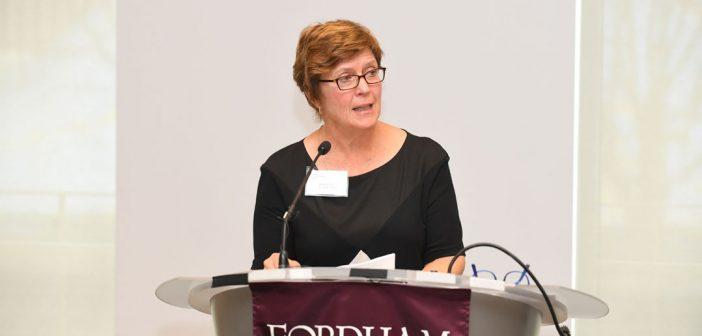 Martha Hirst, CFO of Fordham University.