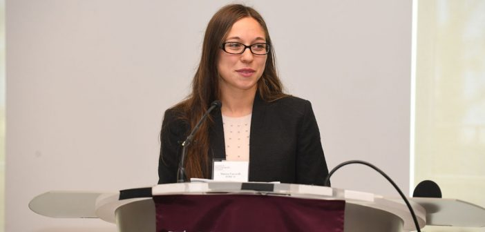 Marissa Vaccarelli, FCRH'18, a Clare Boothe Luce recipient discusses the impact of scholarships.