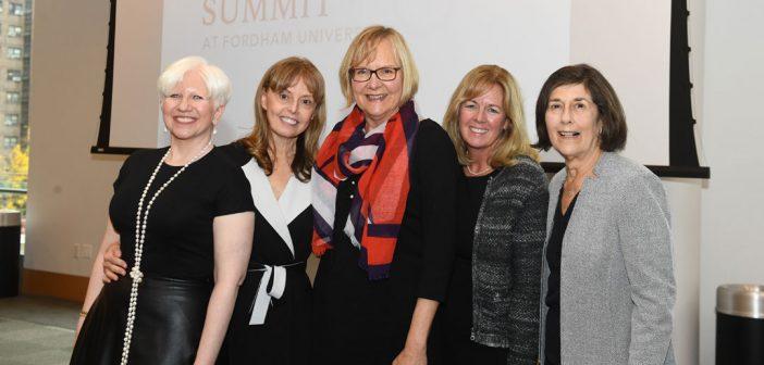 (L-R) Jolie Ann Calella, Christina Seix Dow, Mary Jane F. McCartney, Tracy O' Neill, and Emily L. Smith.