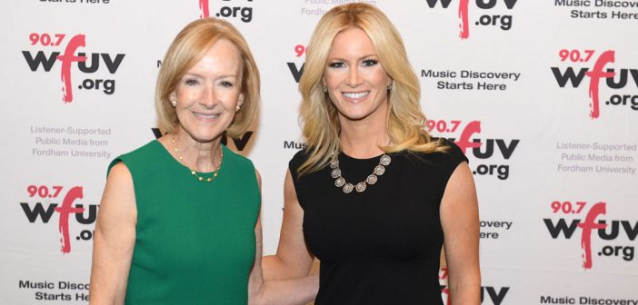 (L-R) Judy Woodruff and Alice Gainer.