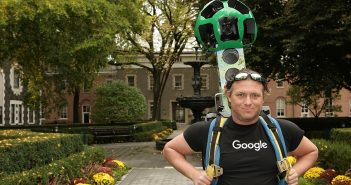 Google Trekker on Campus